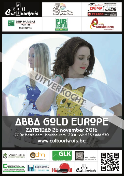 Affiche ABBA Gold Europe