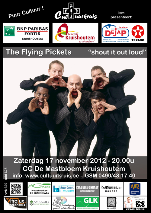 Affiche The Flying Pickets web
